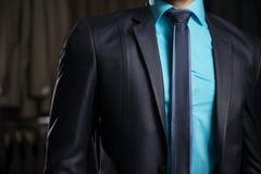 Uomo nel vestito elegante dell'uomo di affari Immagine Stock Libera da Diritti