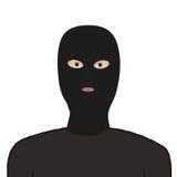 Uomo nella maschera Fotografia Stock
