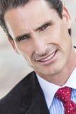 Uomo o uomo d'affari Medio Evo del ritratto Fotografia Stock