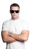 Uomo in occhiali da sole Immagine Stock