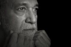 Uomo pensionato fotografie stock libere da diritti