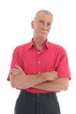 Uomo pensionato Fotografia Stock Libera da Diritti