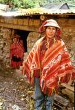 uomo Perù Fotografia Stock Libera da Diritti