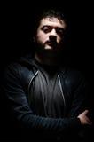 Uomo pericoloso Fotografia Stock Libera da Diritti