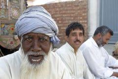 Uomo più anziano nel Pakistan Fotografia Stock Libera da Diritti