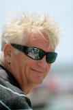 Uomo più anziano sorridente Fotografie Stock