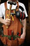 Uomo pratico Fotografie Stock