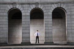 Uomo professionale che lavora 31 Immagine Stock