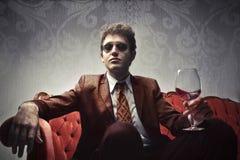 Uomo ricco Fotografie Stock