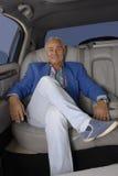 Uomo ricco. Fotografie Stock