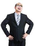Uomo ricco felice Fotografia Stock Libera da Diritti