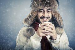 Uomo russo di stile Fotografia Stock Libera da Diritti