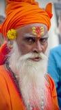 Uomo santo indiano Immagini Stock Libere da Diritti