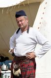 Uomo scozzese Fotografia Stock Libera da Diritti