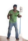 Uomo senza tetto afroamericano Fotografia Stock Libera da Diritti