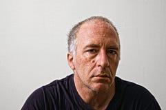 Uomo serio Fotografie Stock Libere da Diritti