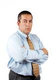 Uomo serio di affari Immagine Stock