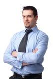 Uomo sicuro. Fotografia Stock Libera da Diritti