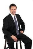 Uomo sicuro di affari Immagine Stock Libera da Diritti