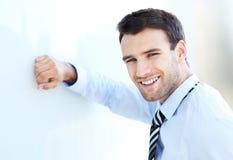 Uomo sicuro di affari Immagini Stock