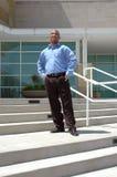 Uomo sicuro di affari Immagini Stock Libere da Diritti