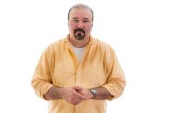 Uomo sincero pietoso Fotografia Stock Libera da Diritti