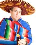 Uomo in Sombrero Immagine Stock