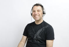 Uomo sorridente Immagini Stock Libere da Diritti