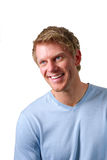 Uomo sorridente Fotografia Stock