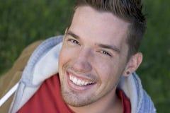 Uomo sorridente Immagini Stock