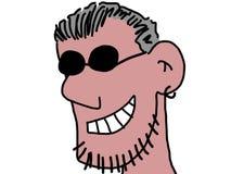 Uomo sorridente Immagine Stock