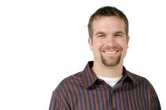 Uomo sorridente Fotografie Stock Libere da Diritti