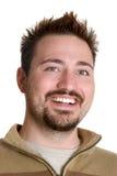 Uomo sorridente felice Immagini Stock Libere da Diritti