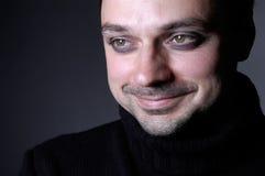 Uomo: sorridere Fotografia Stock