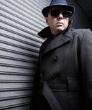 Uomo sospettoso Fotografie Stock