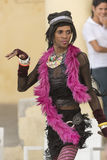 Uomo strano Avana agente Fotografia Stock Libera da Diritti