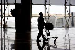 Uomo sull'aeroporto Immagine Stock Libera da Diritti