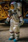 Uomo sulla luna Fotografia Stock Libera da Diritti