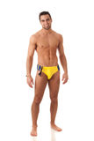 Uomo in Swimwear Fotografie Stock