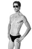 Uomo in swimwear Immagine Stock Libera da Diritti