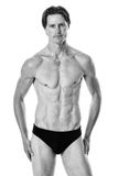 Uomo in swimwear Immagini Stock Libere da Diritti