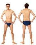 Uomo in Swimwear Immagine Stock
