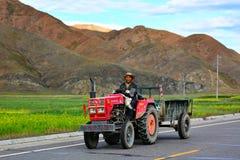 Uomo tibetano Fotografia Stock Libera da Diritti