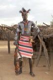 Uomo tribale africano Fotografie Stock