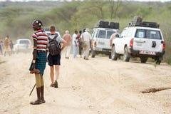Uomo tribale africano Immagini Stock Libere da Diritti