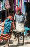 Uomo tribale anziano Immagini Stock