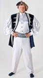 Uomo in un costume Fotografia Stock Libera da Diritti