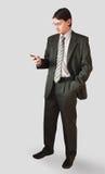 Uomo in un vestito immagini stock libere da diritti