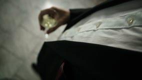 Uomo in un vestito Fotografia Stock Libera da Diritti