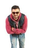 Uomo urbano con gli occhiali da sole Fotografia Stock